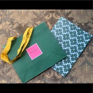 ⭐️ Kate Spade shopping bag and tissue paper